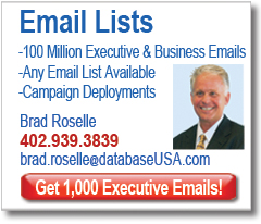 Email Lists, Email Campaigns, Email Marketing Lists, Email List