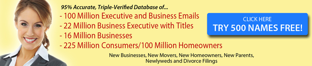 email, mailing lists, database businesses, database marketing, direct mailer lists, business lists, business to business leads, business mailing lists, email database, email list for sale, usa email list, mailing lists marketing, business email lists, business leads, sales leads marketing list