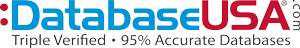 DatabaseUSA.com offers Triple Verified Email Lists, Mailing Lists and Sales Lead Lists. Contact us for 500 FREE names!